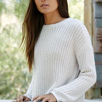 LA Hearts Shaker Stitch Pullover Sweater at PacSun.com