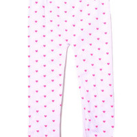 Neon Hearts Seamless Leggings (4-6x)