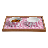 Lisa Argyropoulos Diamonds Are Forever Blush Pet Bowl and Tray