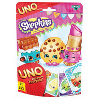 Shopkins UNO Game in Foil Bag