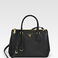 Prada - Saffiano Lux Small Tote - Saks Fifth Avenue Mobile