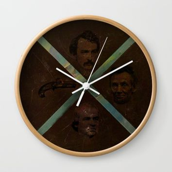 Conspiracy? 1 Wall Clock by EXIST NYC