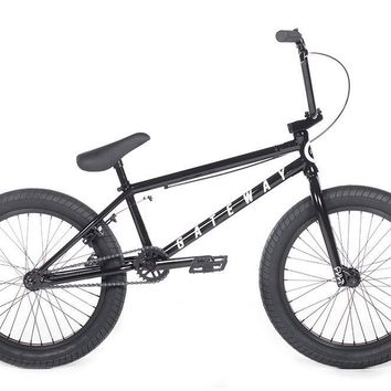 Cult Gateway A Black 20.5 Black Complete BMX Bike 2018