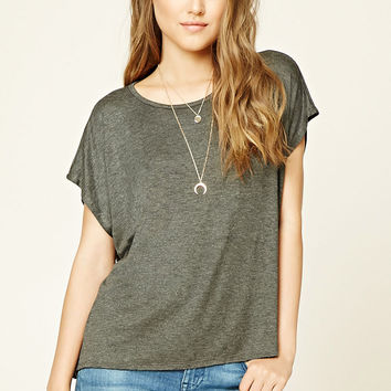 Split-Back Dolman Top