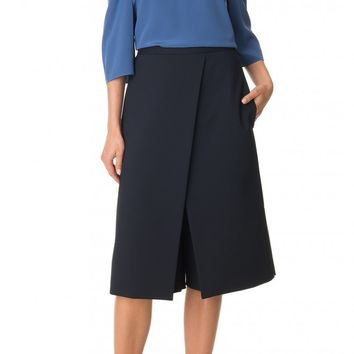 Tibi City Stretch Flat Front Culottes