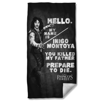 The Princess Bride Montoya Beach Towel