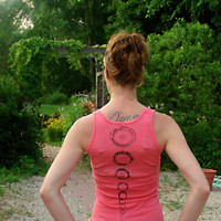 the brahma yoga spine tank top size xs- xl