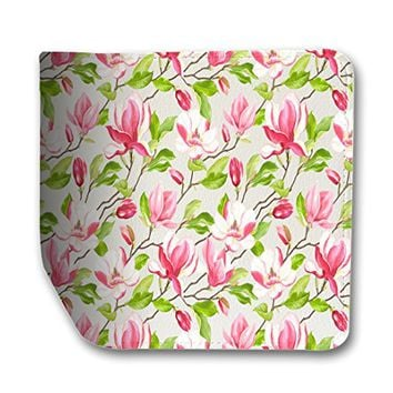Magnolia Flower Leather Passport Holder Protector Cover_SUPERTRAMPshop