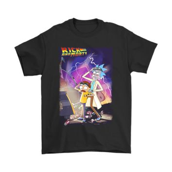 QIYIF Rick And Morty Back To The Future Shirts