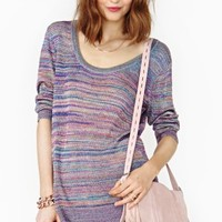Melted Rainbow Knit