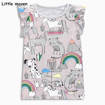 unicorns and rainbows flutter top