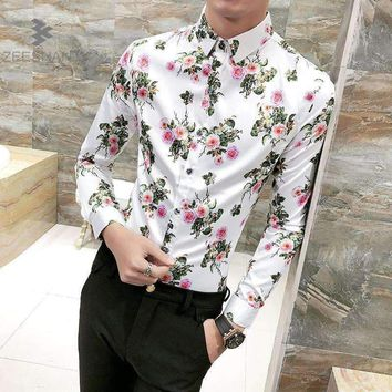Mens Flowers Shirt