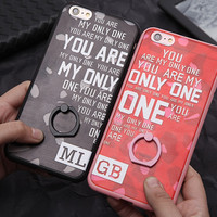 Korean Phone Case Silicone Couple Rack [4915518916]