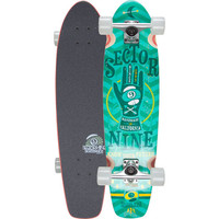Sector 9 Gypsy Skateboard Green One Size For Men 23123350001