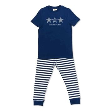 Short Sleeve Stars-n-Stripes Sleepwear