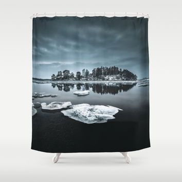 Only pieces left Shower Curtain by happymelvin