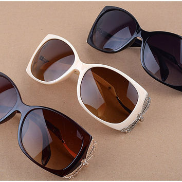 Dragonfly Legs Vintage Butterfly Designer Shades Sunglasses