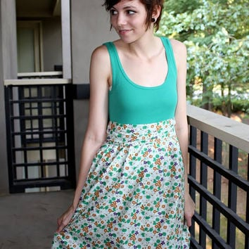 Talk2TheTrees: How To Make An Easy Dress (For Cheap!)
