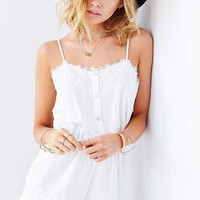 Stone Cold Fox Lansing Lace Romper-
