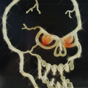Halloween Window Decoration - Skull