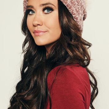 Be Right Back Beanie (Mauve)