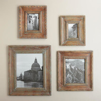 BLUE RUSTIC BRODY WALL FRAMES