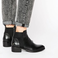 Windsor Smith Metz Black Leather Ankle Boots