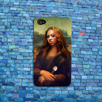 Funny Mona Lisa Solange Knowles iPhone Case Cute Beyonce Sister iPhone Case Cool Cover iPhone 4 iPhone 5 iPhone 4s iPhone 5s iPhone 5c Case