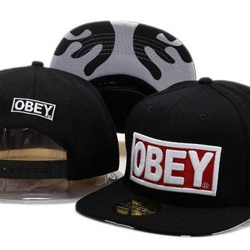 834425759f2 Perfect obey snapback hats Women Men Embroidery Sports Sun Hat Baseball Cap  Hat