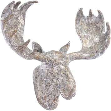 Silver Moose Wall Art