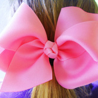 "Extra Large 5"" Boutique Hair Bow Twisted Boutique Bow Girls Big Bow Jumbo Bow Birthday Princess Pageant School Bow Photo-U Choose Color"
