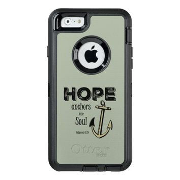 Inspirational Hope Bible Verse OtterBox iPhone 6/6s Case