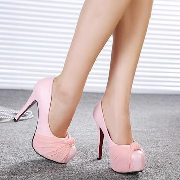 Womens High Heels Platform Pumps Shoes = 5708947713