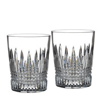 "Two ""Lismore Diamond"" Tumblers - Waterford Crystal"