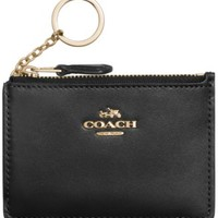 COACH KEY POUCH IN CROSSGRAIN LEATHER | macys.com
