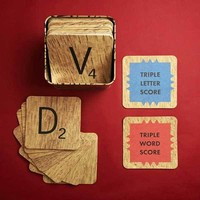 Scrabble Coasters - 2Shopper, Inc.