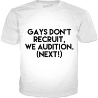 GAY AUDITIONS