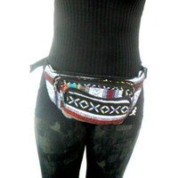 Fanny Packs Festival Tribal Boho Bum Bag Hipster Utility Belt Belly Pouch Purse Waist Bag  Hippies Gypsy Bohemian Gift