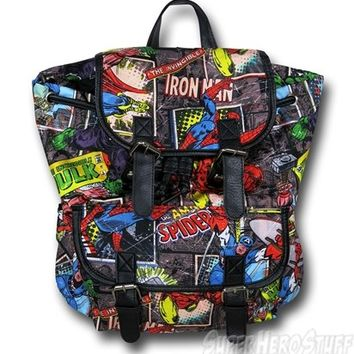 Marvel Comic Slouch Backpack