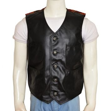 Vasquez Movie The Magnificent Seven Leather Vest – In Style Jackets