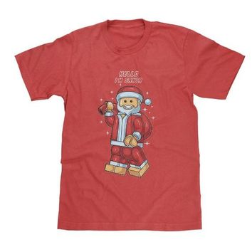 Lego Santa Shirt Adult & Available in Youth Sizes