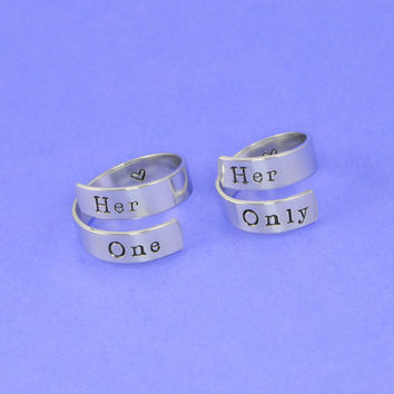 Her One Wrap Ring Set