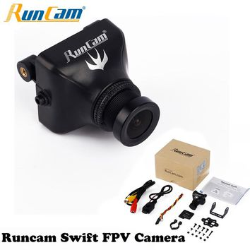 1pcs Runcam Swift FPV Camera 600TVL Horizontal Camera 2.8MM Lens PAL NTSC For QAV-R FPV 220 Alien Martian Impulserc 230 QAV210