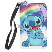Disney Lilo & Stitch Rainbow iPhone 4/4S/5/5S/5C Hinge Wallet