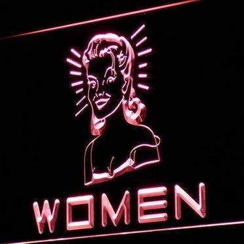 Women's Vintage Restrooms Neon Sign (LED)