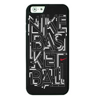 Nike Basketball iPhone 6 plus Cases - Hard Plastic, Rubber Case
