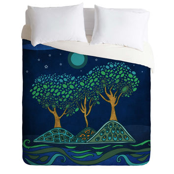 Viviana Gonzalez Once Upon A Time Duvet Cover