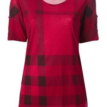 Burberry Brit Checked T-Shirt