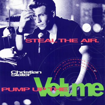 Pump Up the Volume 11x17 Movie Poster (1990)