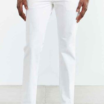Levi's 511 White Bull Denim Slim Jean- White